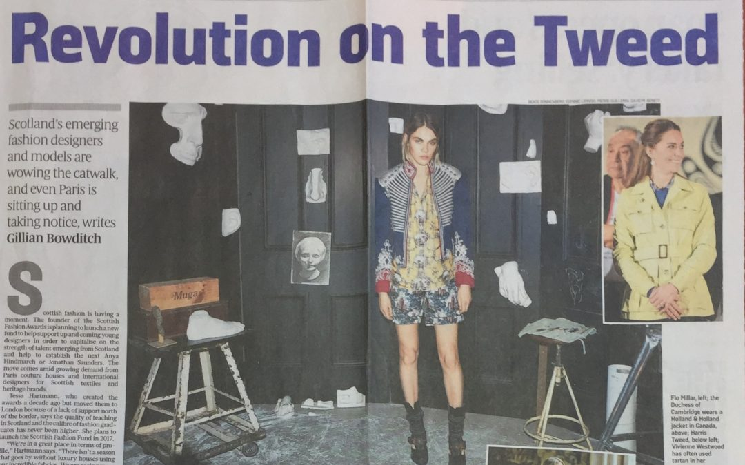 Sunday Time Article : Revolution on the Tweed